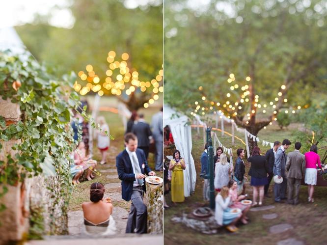 Venue Private Grounds St Gery France Gold Wedding Dress Fleur Wood Bhldn